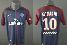 PSG Neymar 2017/2018 Nike Paris Saint-Germain Football Mens Jersey Shirt Size L