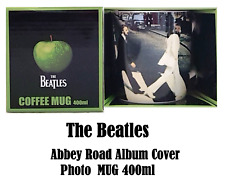 NEW The Beatles - Abbey Road Mug White Gift Boxed 400ml Classic Lic Free Post