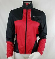 Pearl Izumi Elite Barrier Cycling Jacket Womens Sz S Red Lightweight Packable