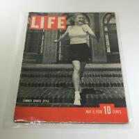 Vintage Life Magazine: May 9 1938 - Summer Sports Style