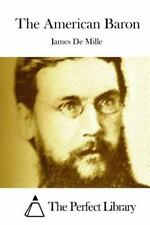 The American Baron by James De Mille (2015, Paperback)