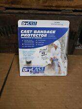 Original Dry Cast Bandage Protector Wide Adult Short Leg New lot D