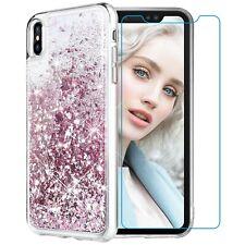Funda Para Iphone Xs Max Glitter Case [Protector De Pantalla De Cristal Temp...
