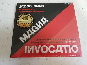 Jaz Coleman   - Magma Invocatio -  CD Album  [New & Sealed]  Killing Joke