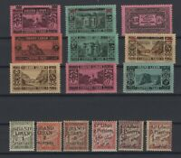 G139221/ FRENCH LEBANON – POSTAGE DUE – YEARS 1924 - 1931 MINT MNH / MH