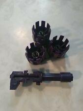 GI Joe Vehicle Swampmasher Tri Roller w Wheels 1988 Original Part and blaster