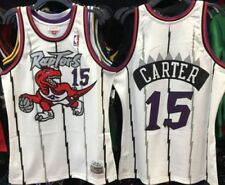 S-3XL camiseta de baloncesto para j/óvenes edici/ón Swingman bordado Camiseta de baloncesto Vince Carter Toronto Raptors 15 # Retro Basketball Camiseta para ni/ño