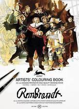 Rembrandt: Artists' Colouring Book, Van Roojen, Pepin, New Book