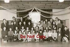 Original 1959 JAPANESE Pic#108 Easter Mass Group Photo GOSHOGAWARA, Aomori JAPAN