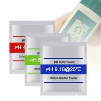 15pcs pH Meter Buffer Solution Powder For Easy PH Calibration M6J5