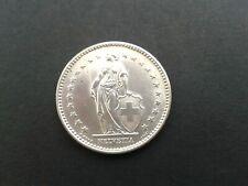 Top Condition: Switzerland / Helvetia 2 Swiss Francs 1965 coin