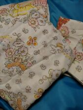 Vintage 1983 Cabbage Patch Kids Sheet Set Complete w/pillow Full/Double Bed Size