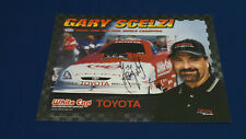 NHRA Gary Scelzi Promo / Hero Card, Funny Car, Signed 2002
