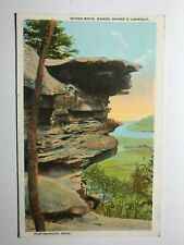 Raven Rock Daniel Boone's Lookout Portsmouth Ohio OH Postcard