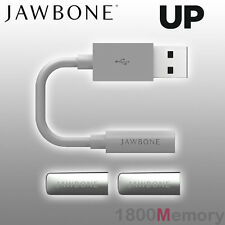 GENUINE Jawbone UP Replacement Parts USB Charging Cable / End Caps for Pedometer