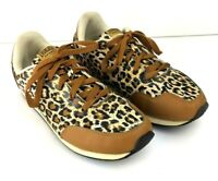 Womens EVERLAST SPORT Leopard Print Sneakers Size 8.5 Lace-up Brown Eve Brooklyn