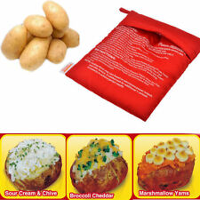4 Minutes Fast Reusable Washable Easy Cook Potato Express Microwave Cooker Bag