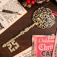 MAGIC SANTA KEY - REAL GOLD METAL 18cm - Replica of Santa's Actual Magic Key