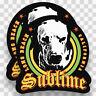 2x SUBLIME Stickers Decals Vinyl Band Music Logo Rock Ska Punk Car Long Beach