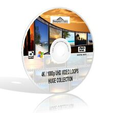 Video Loops 4K 1080 UHD Mega Collection plus FREE Updates!