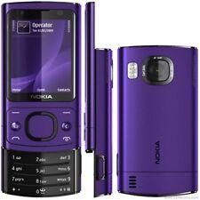 Nokia 6700 slide Mobile Phone 3G Smartphone 5MP 1Year Warranty Purple US Stock