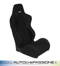 Sedile Sportivo Eco reclinabile  Colore Nero