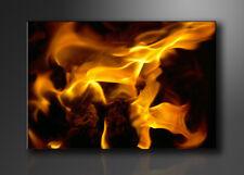 Visario Bild auf Leinwand Markenware  Feuer 120x80cm XXL 5080>