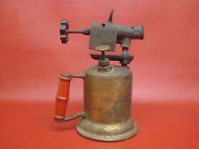 The Turner Brass Works Antique Soldering Blowtorch