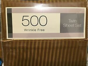 New Twin Sheet Sets--Solid Stripe Plaid--Sonoma--Grace Designs/Sears--JCP Home
