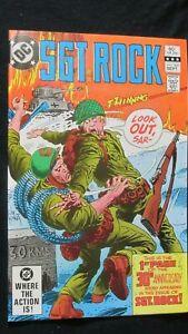 SGT ROCK #368 (Sept 1982 DC Comics)