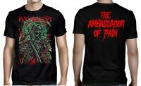 KATAKLYSM cd lgo THE AMBASSADOR OF PAIN Ofcl SHIRT SMALL serenity in fire OOP