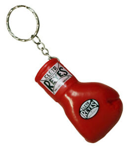 Cleto Reyes Rubber Boxing Glove Keychain - Red