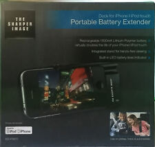 New The Sharper Image ESI-PSB10 Rechargeable Battery Extender  iPhone 4/4s/3/3GS