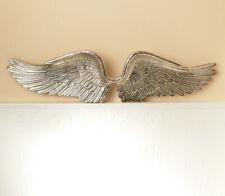 XL Wanddeko Deko Engelsflügel Engel Flügel Alu Metall  Antik Stil Vintage NEU