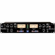 ART Pro Audio MPA II 2-Channel Tube Microphone PreAmp Mic Pre Amp PROMPAII