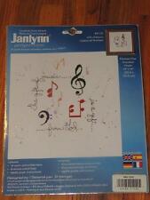 2001 JANLYNN GIFT OF MUSIC FROM GOD CROSS STITCH KIT 14 x 14 #87-53