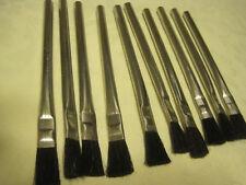Acid Flux/Glue/Hobby Brushes LOT OF 10 PART 152 SIZE 2 BY TORRINGTON BRUSH CO.