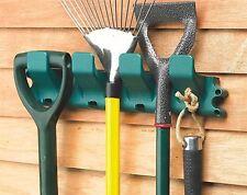 Strumento da giardino attrezzatura Hanger Rack Holder Organizzatore Tidy Capanno Garage Negozio 8 Ganci
