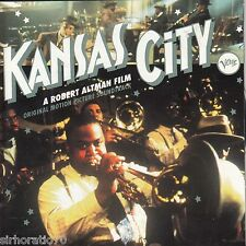 KANSAS CITY Original Motion Picture Soundtrack CD - New - Verve Jazz