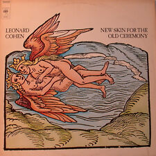 "LEONARD COHEN - New Skin For The OLS ceremonia 12"" LP [K36]"