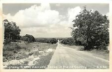 Vintage 1950's Real Photo PC; Hwy 16 near Kerrville TX in the Hill Country