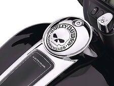 Harley Willie G Skull Console Fuel Door 2008 + FLHX Touring Street Glide Road