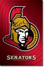 HOCKEY POSTER Ottawa Senataors Logo NHL