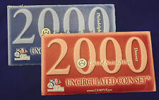 2000 UNCIRCULATED Genuine U.S. MINT SETS ISSUED BY U.S. MINT