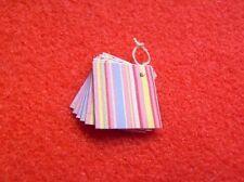 Dolls House Miniature 1:24th Scale Shop Paper Bags Set C