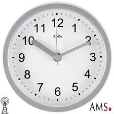 AMS 41 Wanduhr / Tischuhr Funk  Funkuhr  Saunauhr Bürouhr Küchenuhr Clock 396