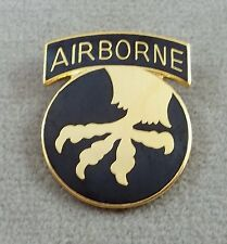 US Army 17th Airborne Division Pin / Clutchback
