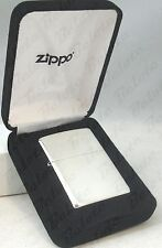 Zippo Sterling Silver Brushed Finish Lighter Model 13