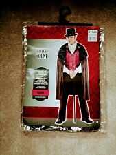Count Dracula Costume, Adult, Ex Cond