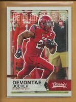 2016 Panini Classics Devontae Booker Glossy RC Rookie Card # 300 Denver Broncos